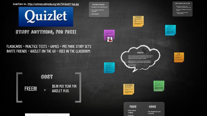 Quizlet by Jenna Schettler on Prezi