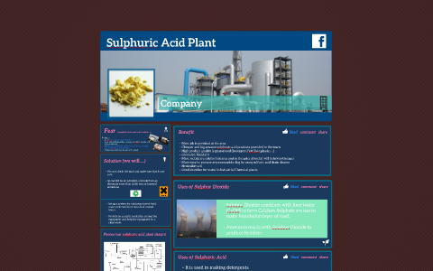Sulphuric Acid Plant by STAR of David on Prezi