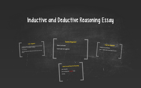 Compare And Contrast Essay Topics For High School  Business Cycle Essay also Sample Thesis Essay Inductive And Deductive Reasoning Essay By Caroline Davis On Prezi Terrorism Essay In English