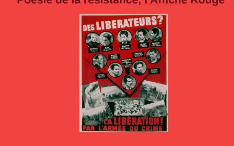 19bd4998d4787 Poésie de la résistance