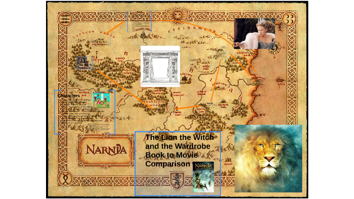 The Lion The Witch And The Wardrobe Book To Movie Comparison By Nathan R The the chronicles of narnia collection. wardrobe book to movie comparison