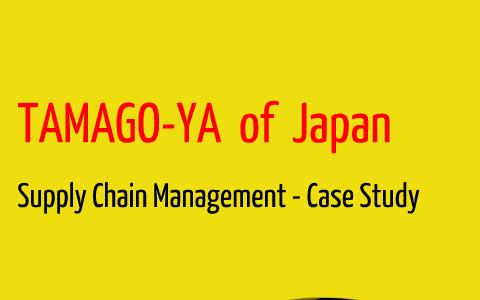tamago ya case study analysis