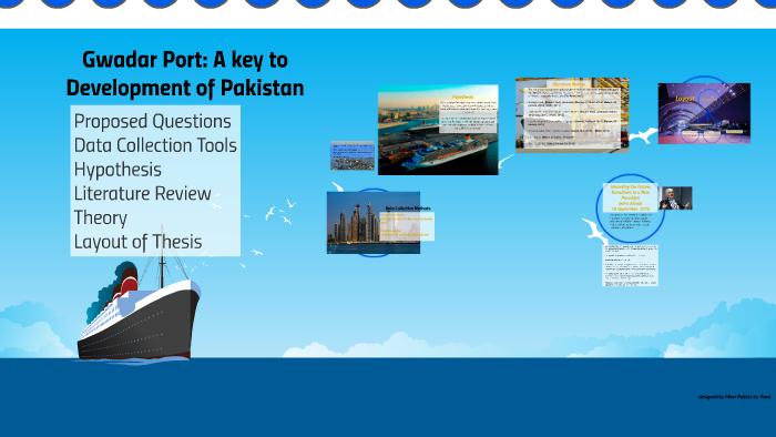 thesis on gwadar port