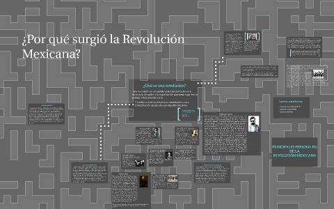 Por qué surgió la Revolución Mexicana? by guillermo guerrero