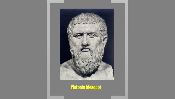 Platonin Ideaoppi