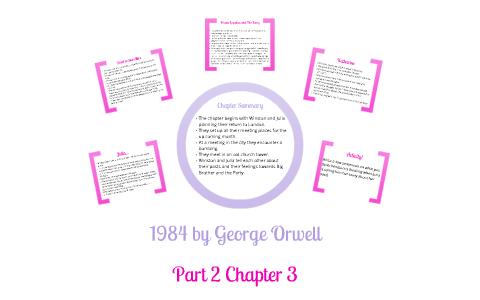 1984 Part 2 Chapter 3 by Louisa C on Prezi