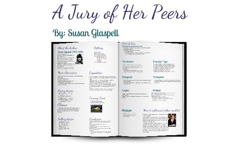 susan glaspell a jury of her peers analysis