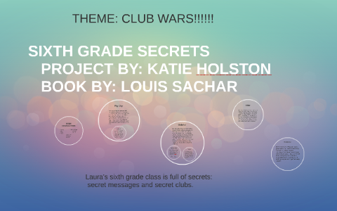 Sixth Grade Secrets By Katie Holston On Prezi