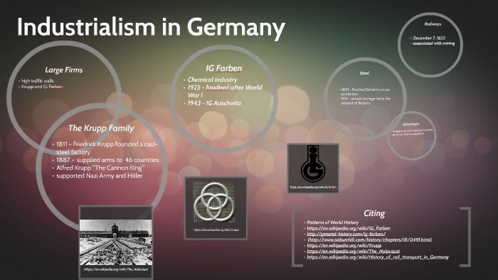 Industrialism in Germany by Heather Wuellner on Prezi