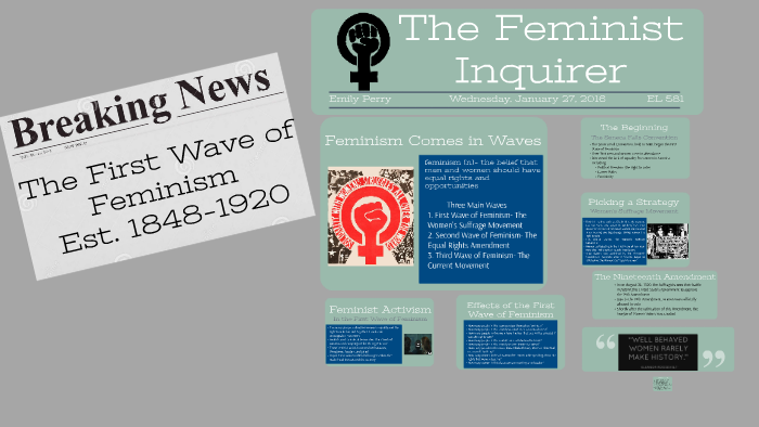 First Wave Feminism by Emily Perry on Prezi