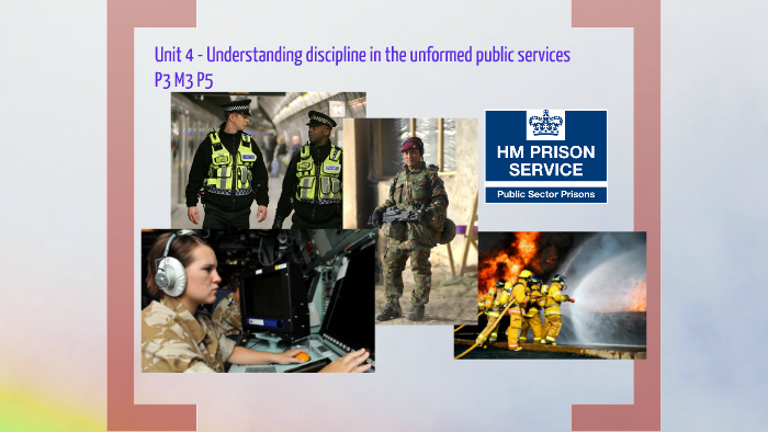 the need for discipline in the public services