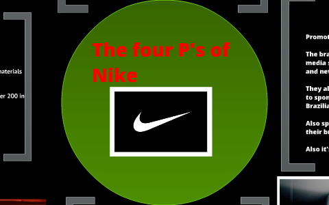 musical Remisión bolso  The 4 P's of Nike by Isaiah Robison on Prezi Next
