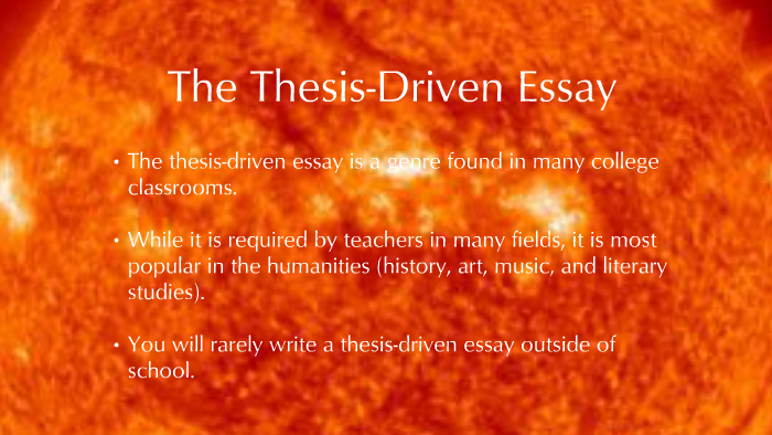 Thesis driven custom business plan editor for hire