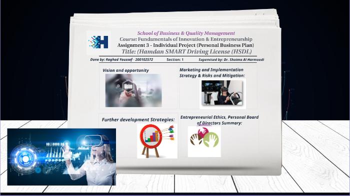 Personal Business Plan - HSDL by Raghad Youssef on Prezi Next