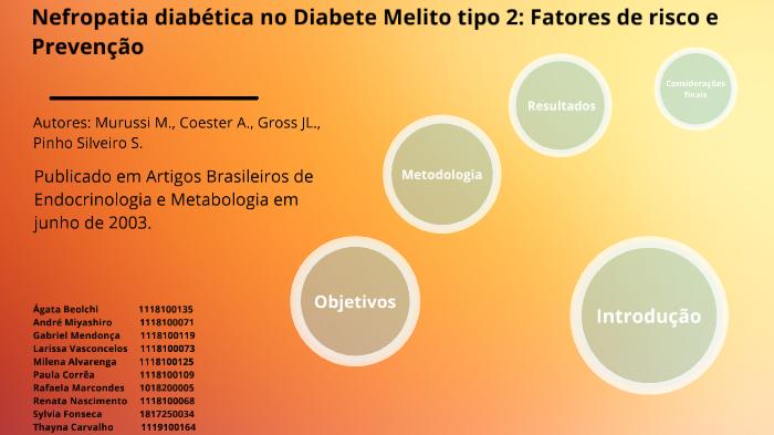 diabetes mellitus tipo 2 fatores de risco