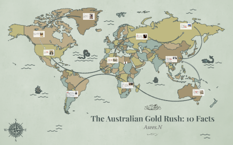 Map Of Australia Gold Rush.The Australian Gold Rush 10 Facts By Asees N On Prezi