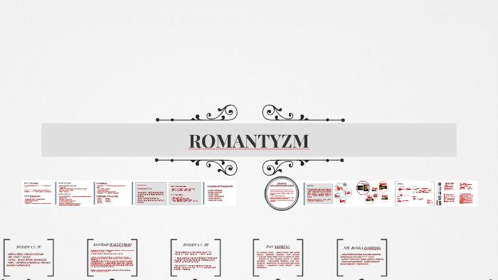 Romantyzm By W S On Prezi