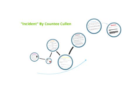 countee cullen incident poem