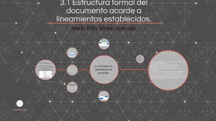 3 1 Estructura Formal Del Documento Acorde A Lineamientos Es