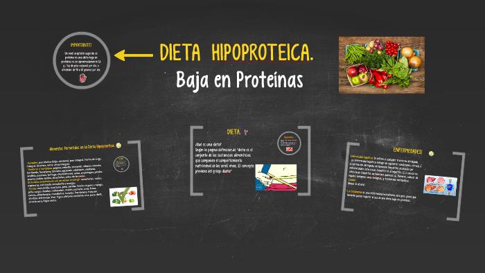 Que es la dieta hipoproteica