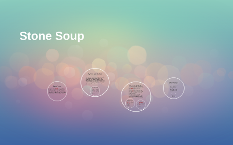 stone soup kingsolver thesis