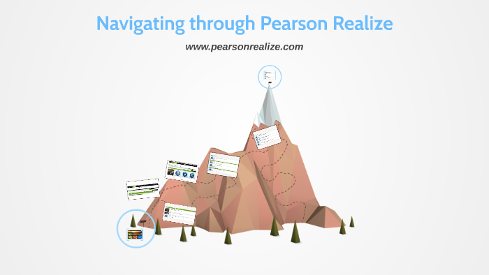 Navigating through Pearson Realize by Marybeth Madlinger on