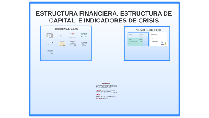 Estructura Financiera Y Estructura Capital By Carlos Andres