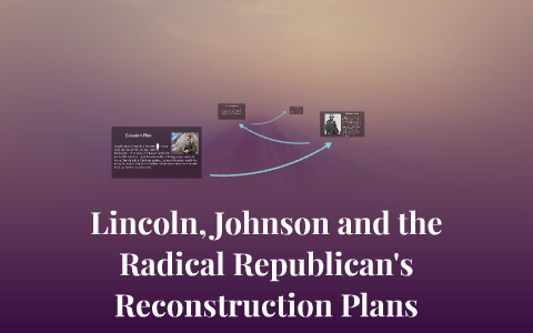Lincoln Johnson And The Radical Republicans Reconstruction By