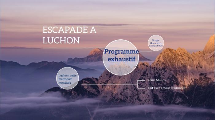 Escapade Luchon By Louis Munos On Prezi Next