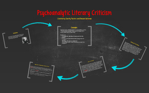 psychoanalysis in literature examples