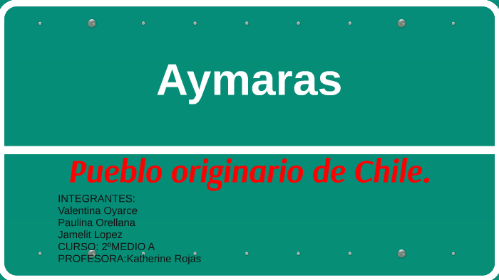 Aymaras By Jamelit Lopez On Prezi