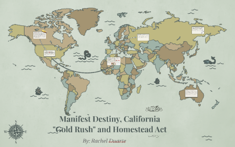 who initiated the phrase manifest destiny