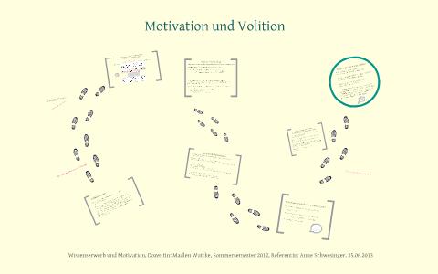 Motivation Und Volition By Anne S On Prezi
