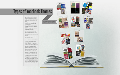 Types Of Yearbook Themes By Danielle Lindblom