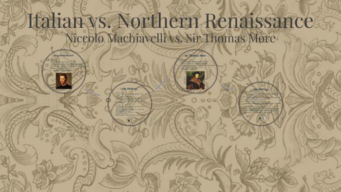 Italian vs. Northern Renaissance by Evie S.
