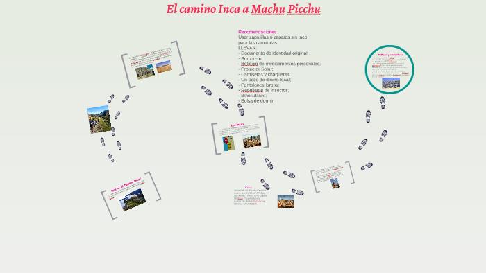 El Camino Inca Machu Pi By Alessandro Pierri On Prezi