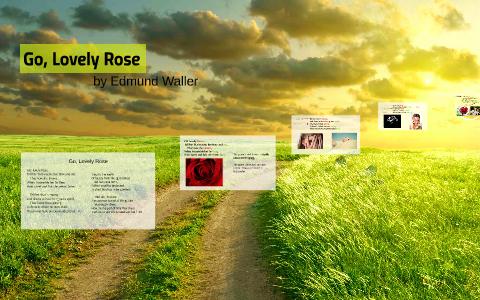 edmund waller go lovely rose analysis