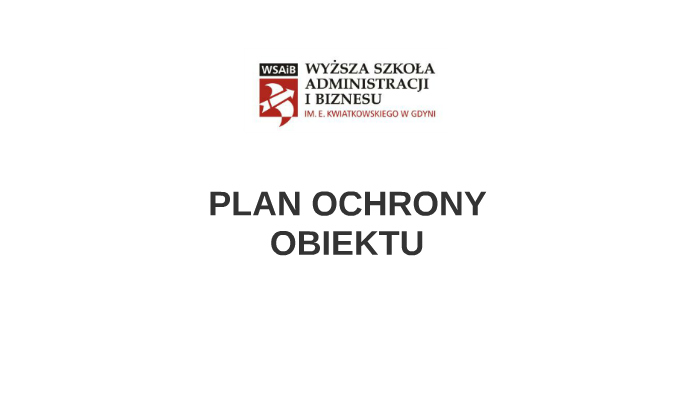 Plan Ochrony By Ewa Anna On Prezi