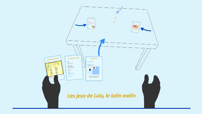 Les Jeux De Lulu Le Lutin Malin By Chloe Thouraud On Prezi
