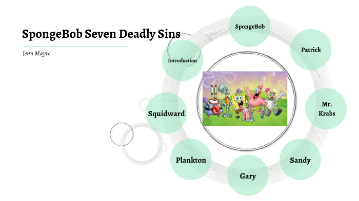 spongebob seven deadly sins
