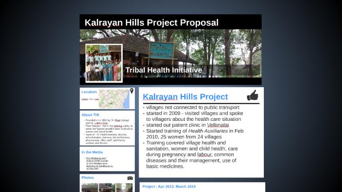 Tribal Health Initiative by Amrutha Rajiv on Prezi