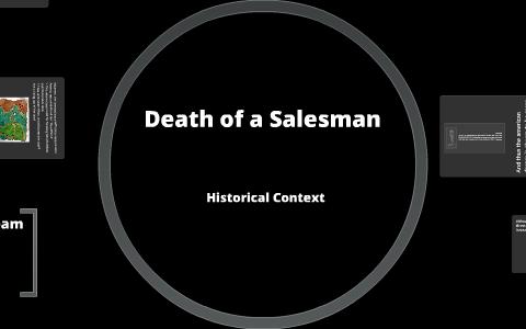 death of a salesman context
