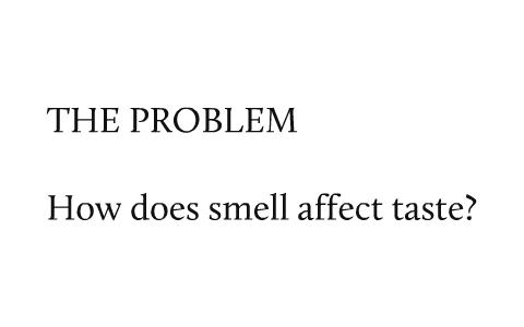 smell affect taste