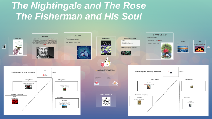 the nightingale and the rose plot diagram