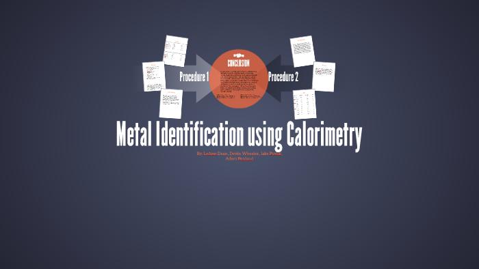 Metal Identification using Calorimetry by LeAnn Dean on Prezi