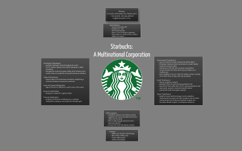 is starbucks a multinational company
