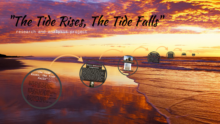 the tide rises the tide falls analysis line by line