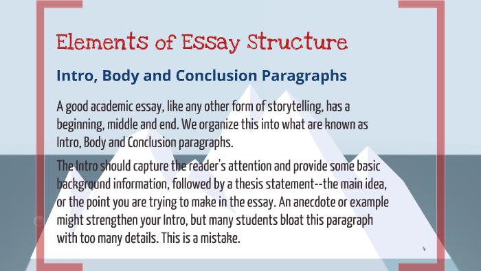 Essay describing your educational goals