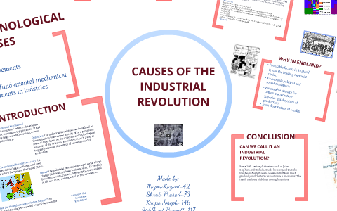 Causes Of The Industrial Revolution By Nazma Kazani On Prezi Next