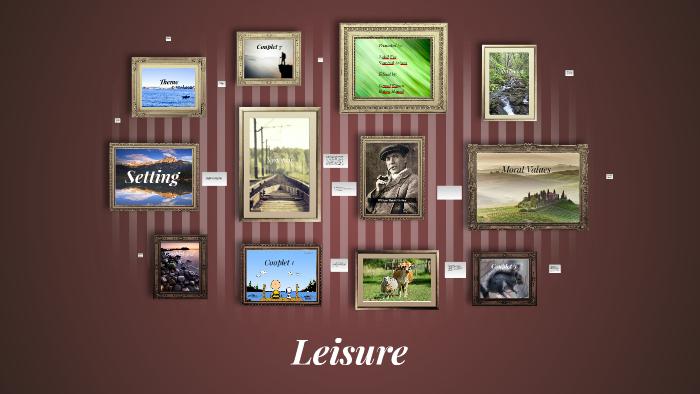 wh davies leisure summary